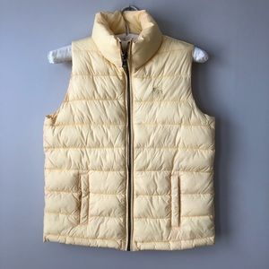 Abercrombie Puffer Vest Yellow Youth 13/14